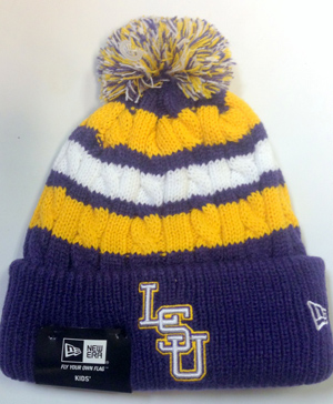 651d6065342 LSU Youth Knit Hat