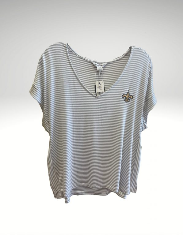 A casual and comfortable shirt that proudly represents your loyalty to the New Orleans Saints. Price: $79.50. Brand: Tommy Bahama