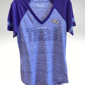 A casual and comfortable shirt that proudly represents your tigers. Price: $40. Brand: Colosseum. 89% Polyester/11% Cotton