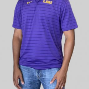 A sophisticated yet sporty polo that proudly represents your loyalty to the LSU Tigers. Price: $65. Brand: Nike