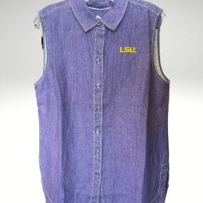 A casual and comfortable shirt that proudly represents your tigers. Price: $99.50. Brand: Tommy Bahama. 100% linen