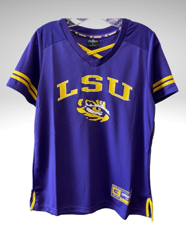 A casual and comfortable shirt that proudly represents your tigers. Price: $55. Brand: Colosseum. 100% Polyester