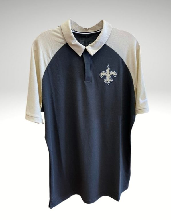 A sophisticated yet sporty polo that proudly represents your loyalty to the New Orleans Saints. Price: $70. Brand: Nike