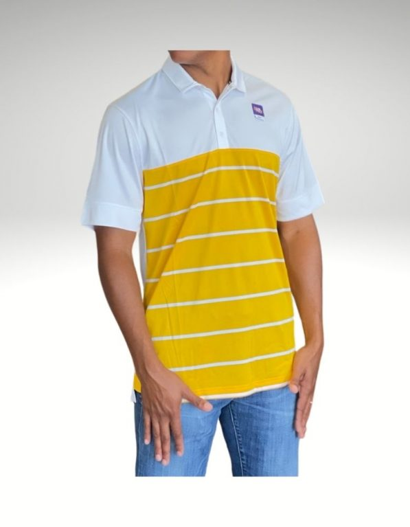 A sophisticated yet sporty polo that proudly represents your loyalty to the New Orleans Saints. Price: $65. Brand: Nike